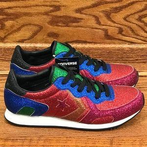 120da9c73405 Converse Shoes | Jw Anderson X Thunderbolt Ox Glitter | Poshmark